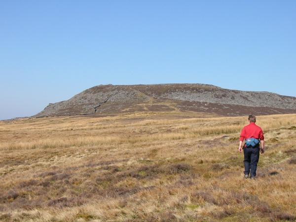 Approaching Clougha Pike