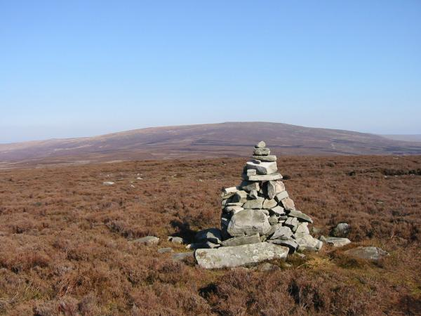 Looking towards the Ward's Stone from Grit Fell summit