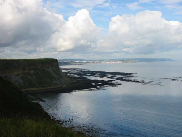 Cunstone Nab with Scarborough in the distance