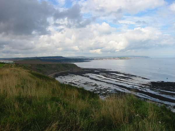 Red Cliff Point with Scarborough in the distance