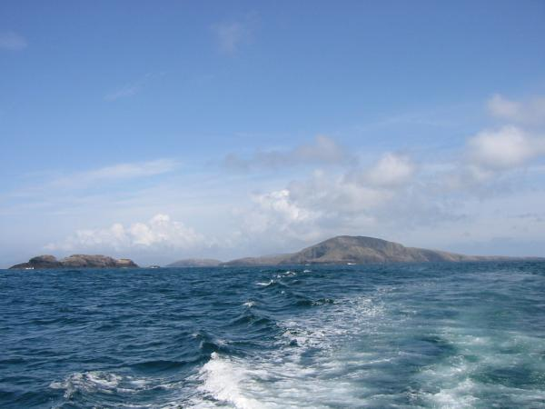 Looking back to Pabbay