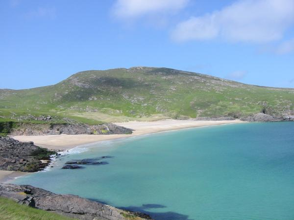 Bagh Mhiughlaigh with Cnoc Mhic a Phi (McPhee's Hill) behind