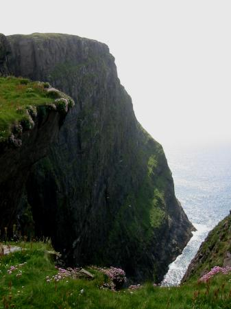 The highest cliff on Mingulay 'Biulacraig' rising to a height of 753ft (229m)