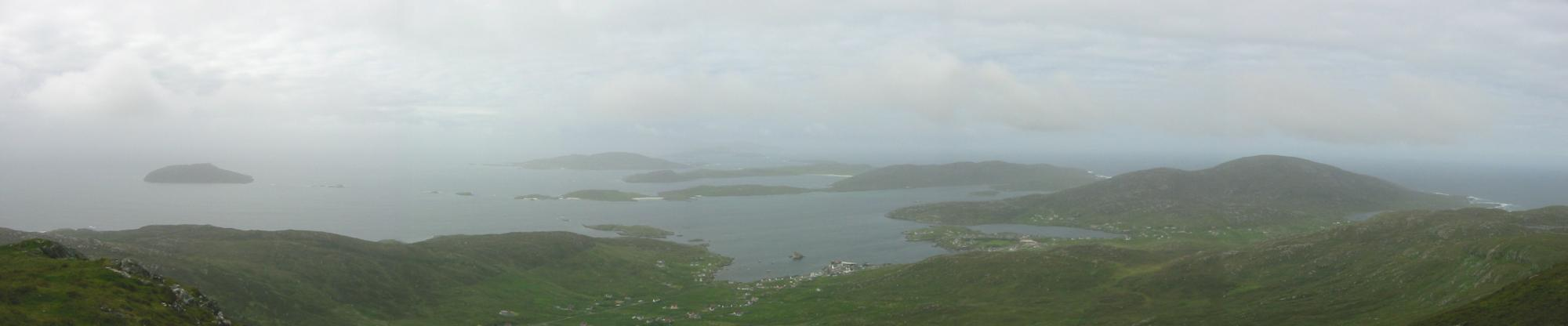 Southerly panorama from Heaval's summit