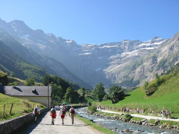 The Cirque de Gavarnie from near our campsite