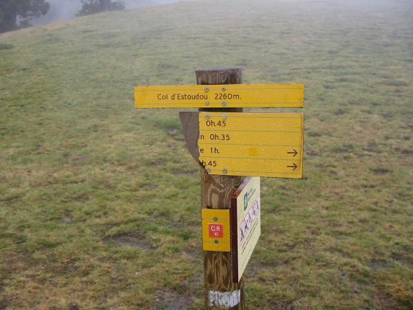 Col d'Estoudou (2,260m / 7,413ft)