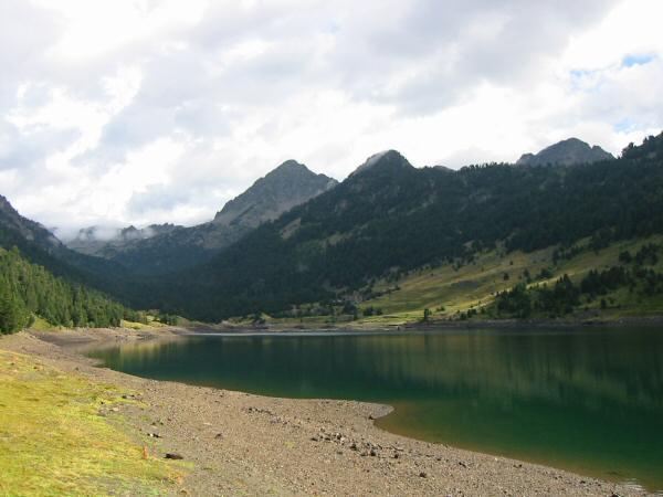 ...to Lac de l'Oule