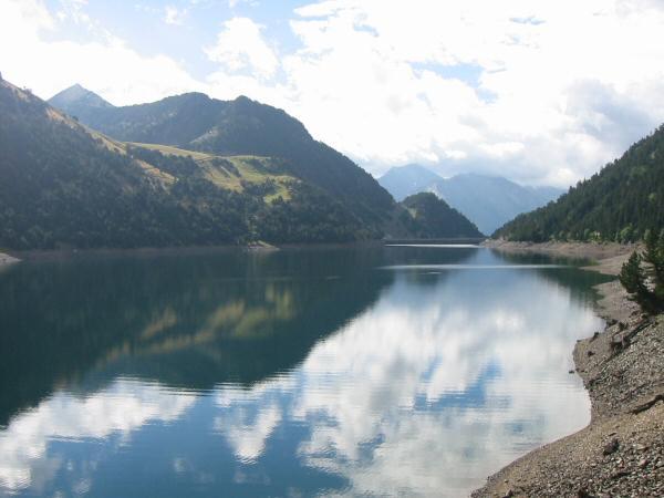 Lac de l'Oule and some sunshine
