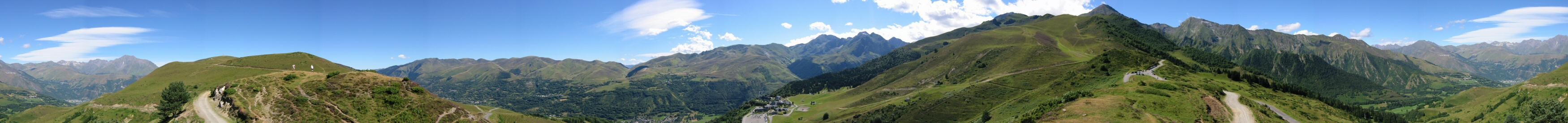 360 panorama from the Col d'Azet