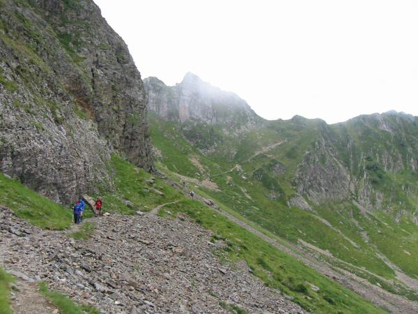 Looking back to the col