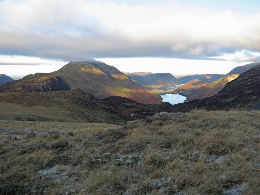 Haystacks, The High Stile ridge and Buttermere