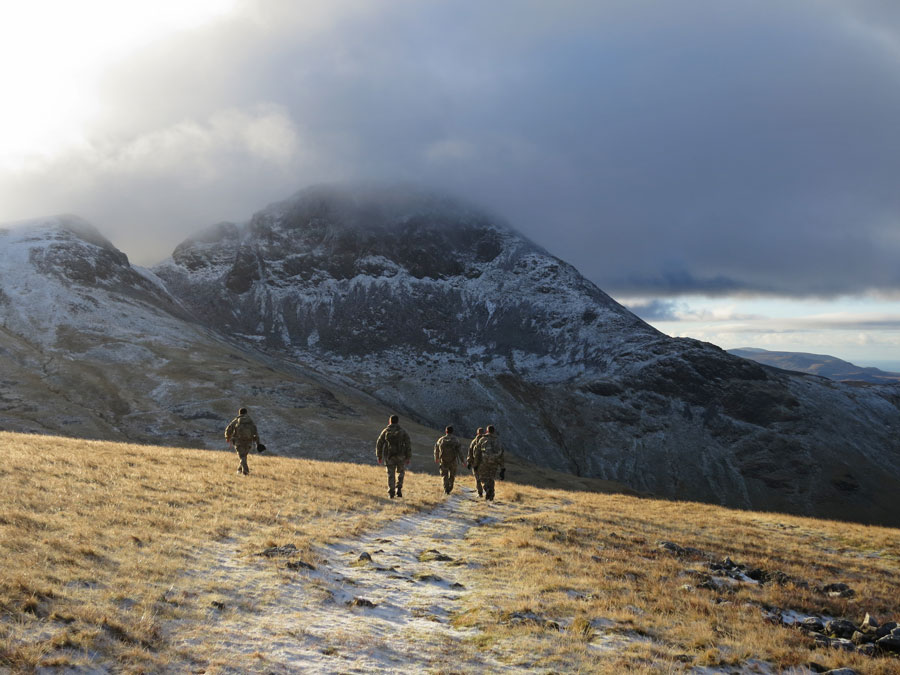 Heading for Great Gable