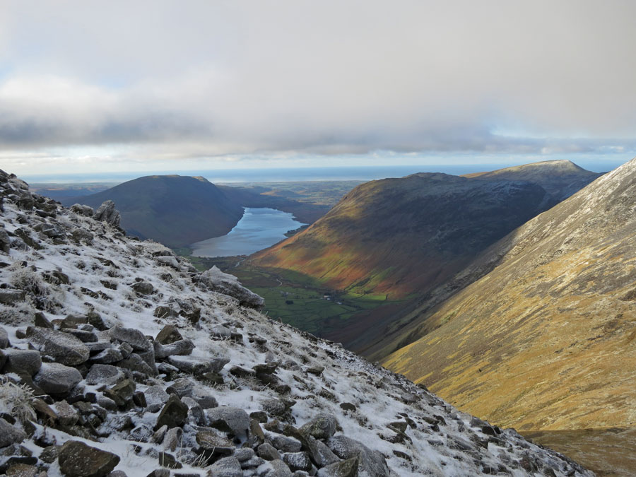 Wastwater from the path up from Beck Head