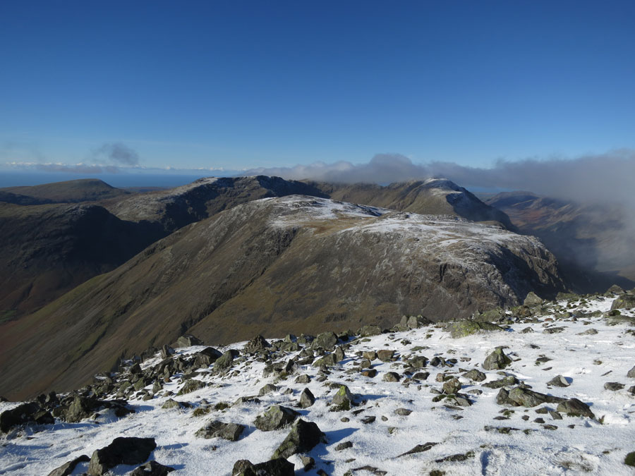 Kirk Fell and the Mosedale fells