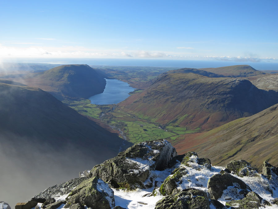 Wasdale from near the Westmorland Cairn
