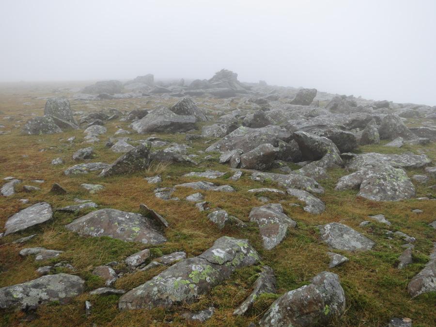 Nethermost Pike's summit