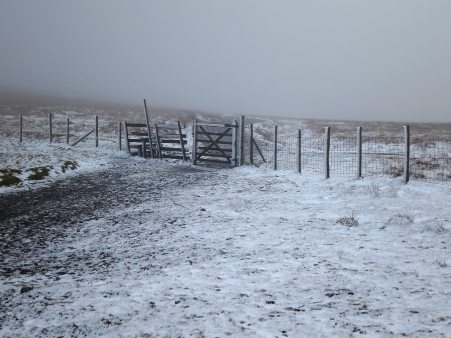 The Jenkin Hill gate