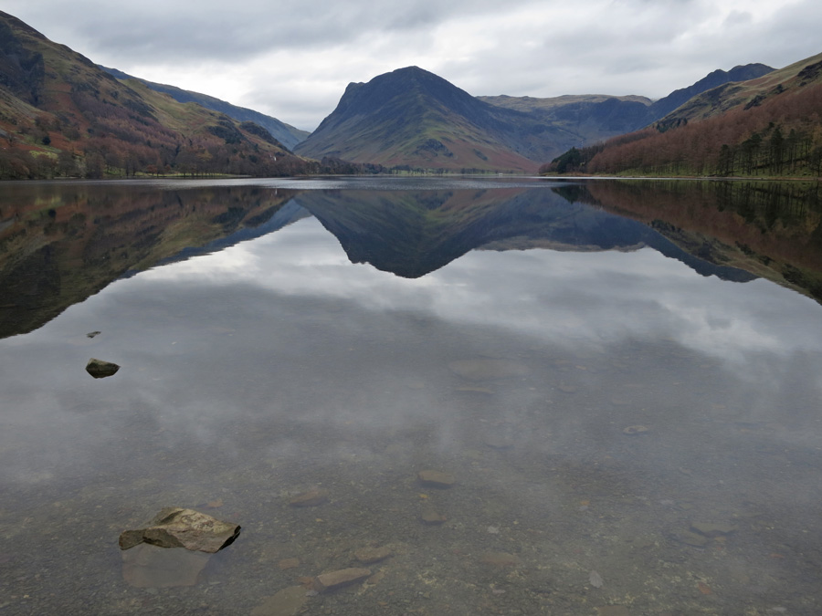 Looking up Buttermere to Fleetwith Pike