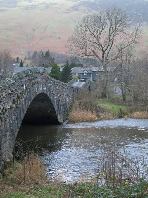 The double bridge over the River Derwent