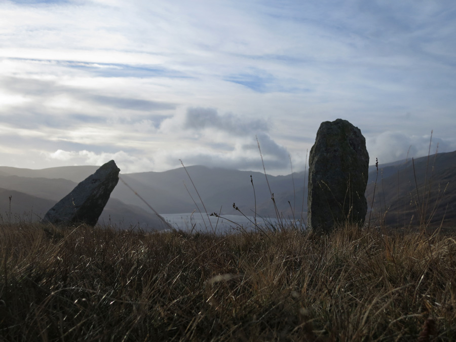 Haweswater from the two [[Itm:585|standing stones]]