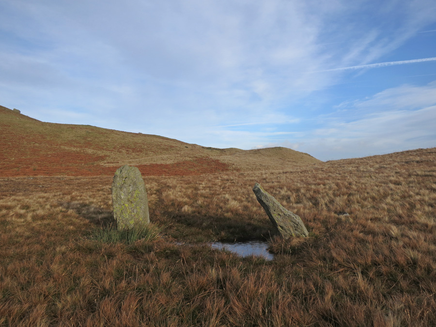 The two standing stones