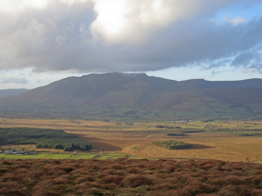 Blencathra from the summit