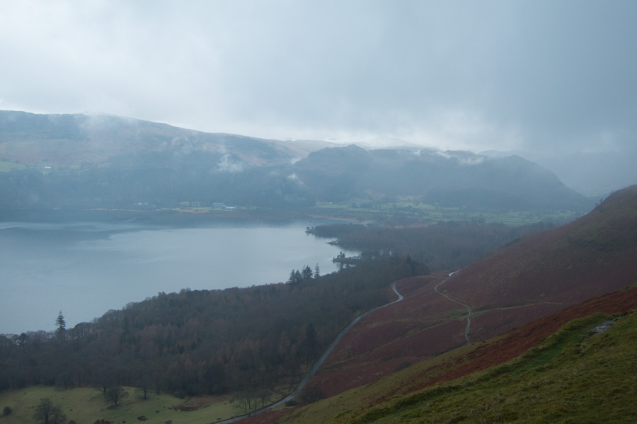 The head of Derwent Water