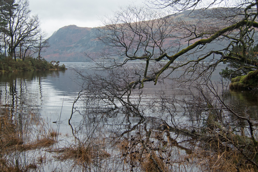 Walla Crag on the far side of Derwent Water