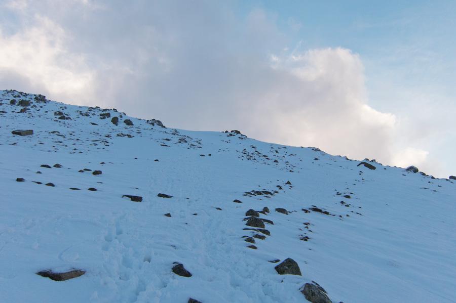 It is steeper than it looks!