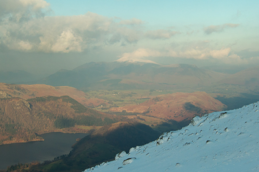 Skiddaw having ascended the steep bit