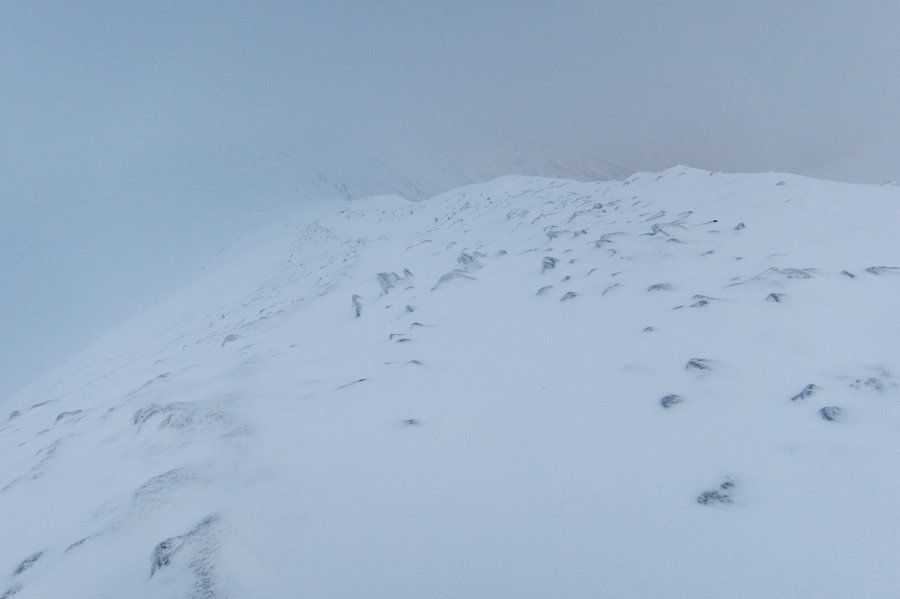 The ridge north off Helvellyn Lower Man