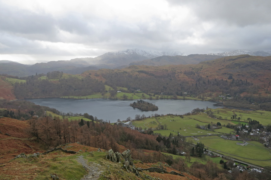 Grasmere from our descent