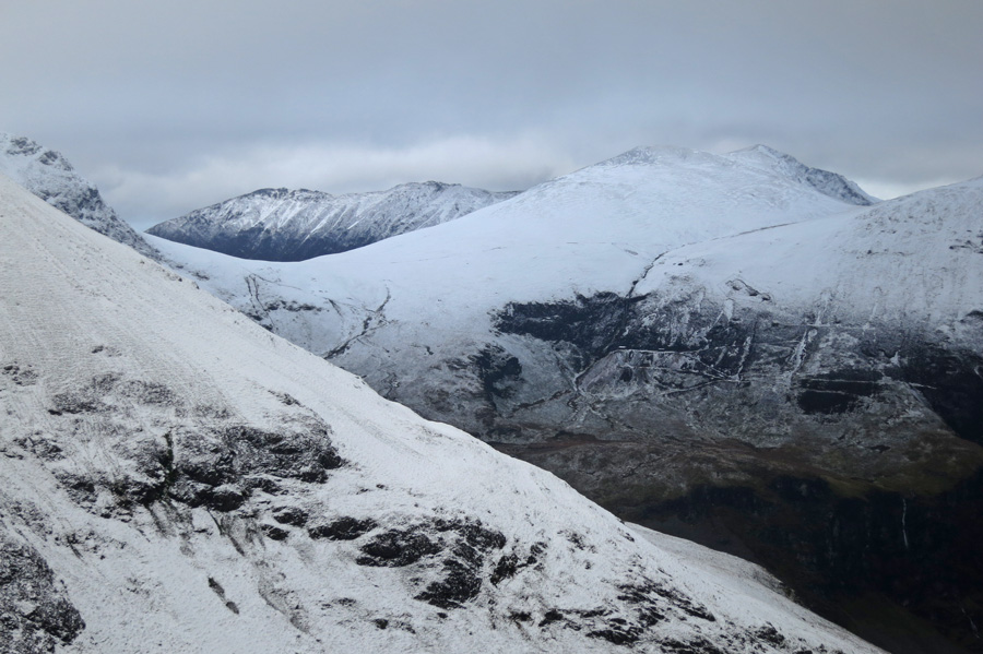 Looking across to Coledale Hause