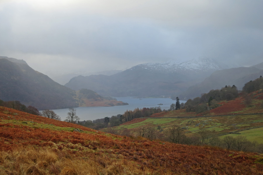 Ullswater from my ascent