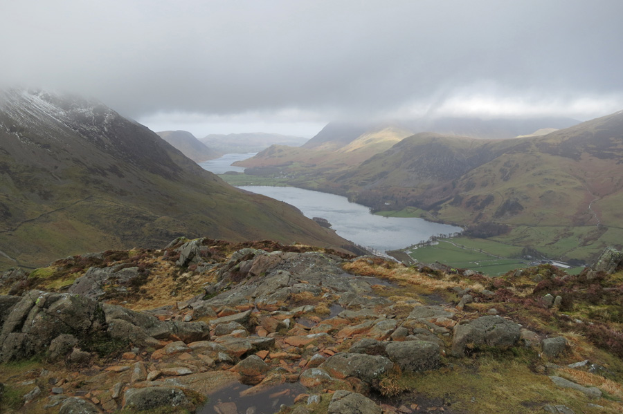 Butteremre from high up on Haystacks