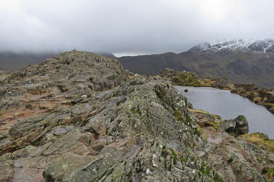 Haystacks summit ridge