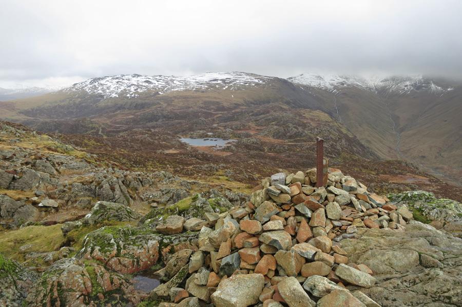 Innominate Tarn from Haystacks summit