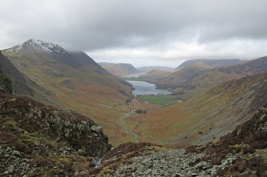 Another shot of the Buttermere valley