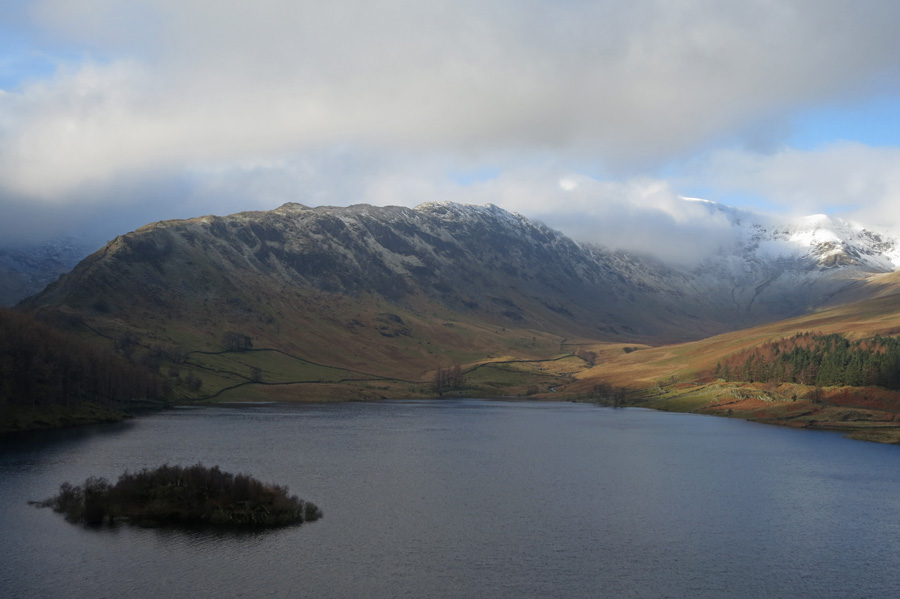 Looking across Haweswater to Rough Crag