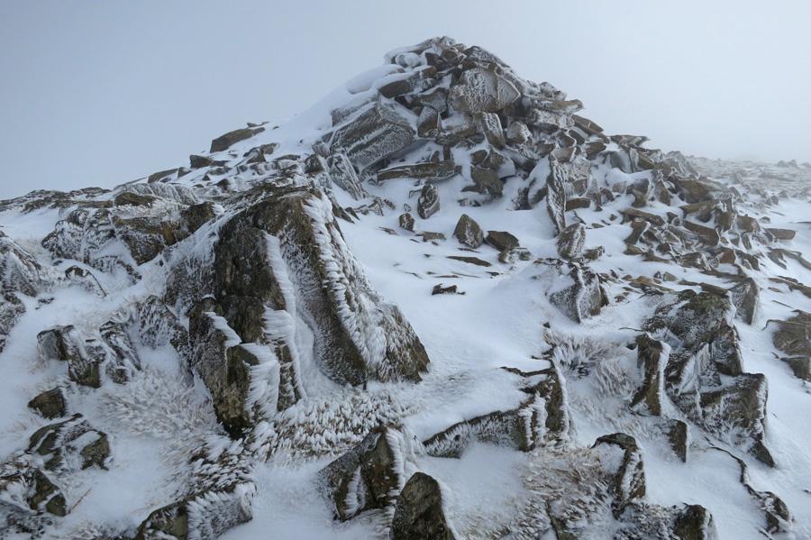 Mardale Ill Bell's summit carin