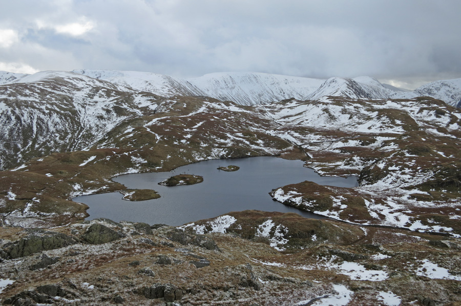 Angle Tarn from the southern top