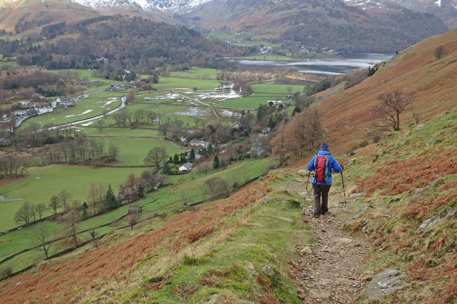 ...and down to Patterdale