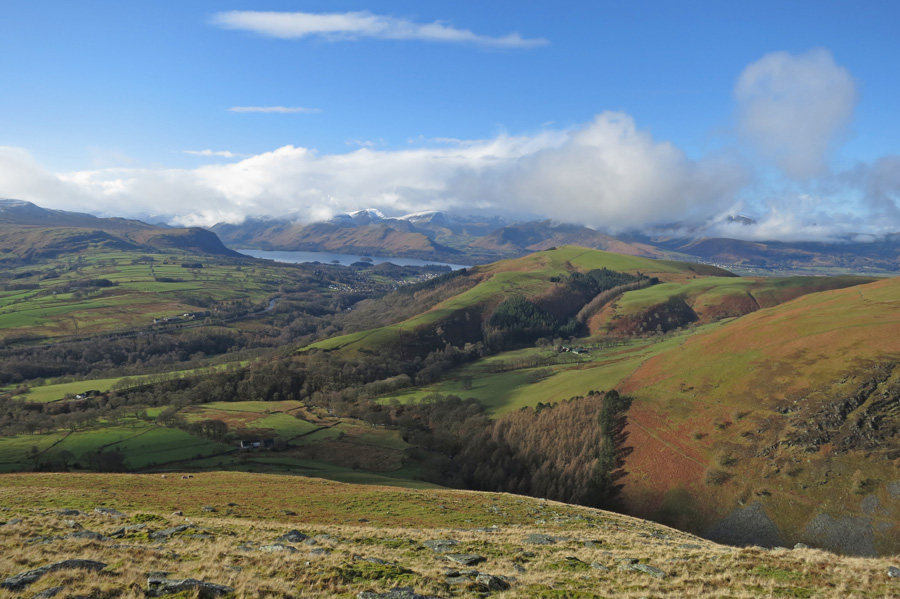 Towards the north western fells