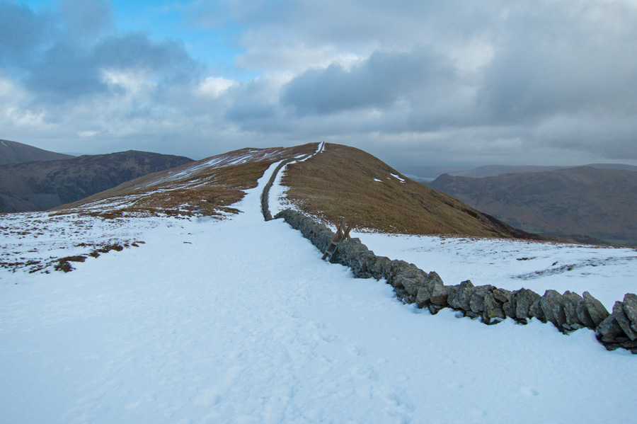 Just follow the wall to Birkhouse Moor
