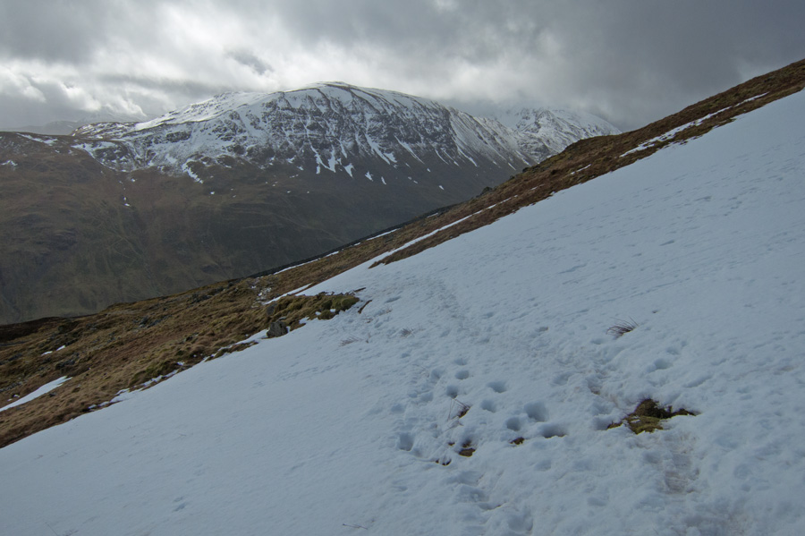 Looking across Grisedale to St Sunday Crag