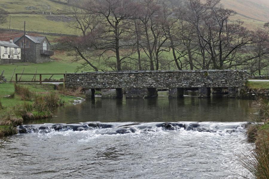 Bridge over Howegrain Beck