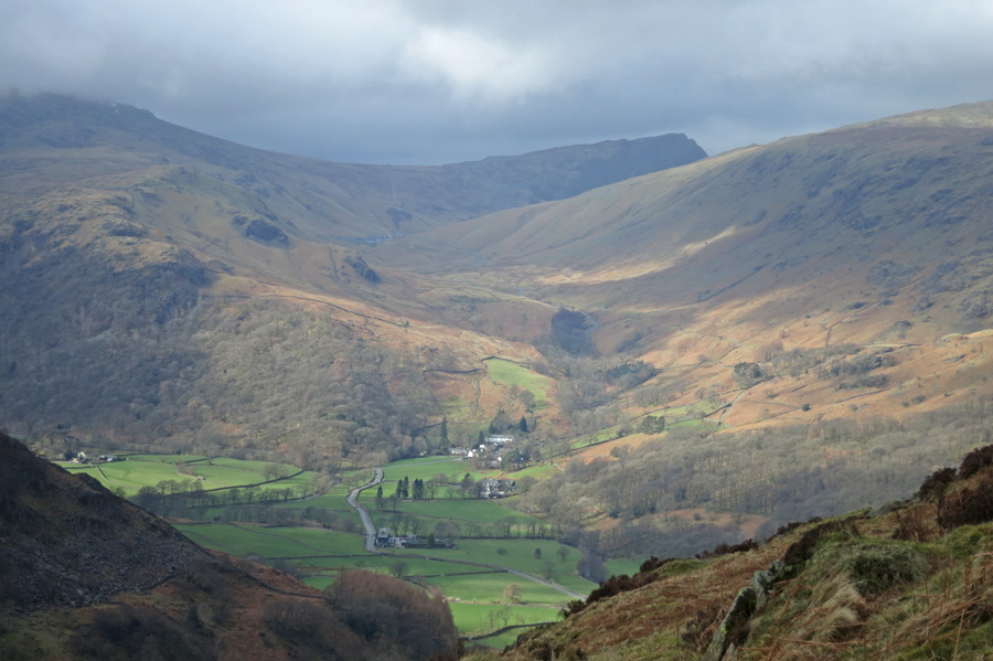 Seatoller at the foot of Honister Pass
