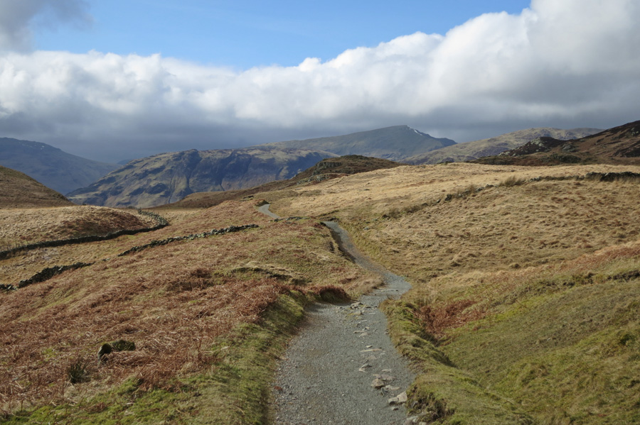 Towards Dale Head from Puddingstone Bank