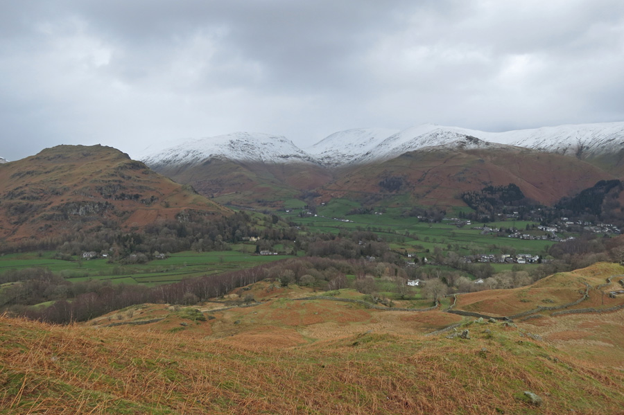 Helm Crag, Seat Sandal, Fairfield and Great Rigg