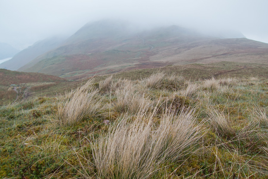 Looking over Boredale Hause to Place Fell